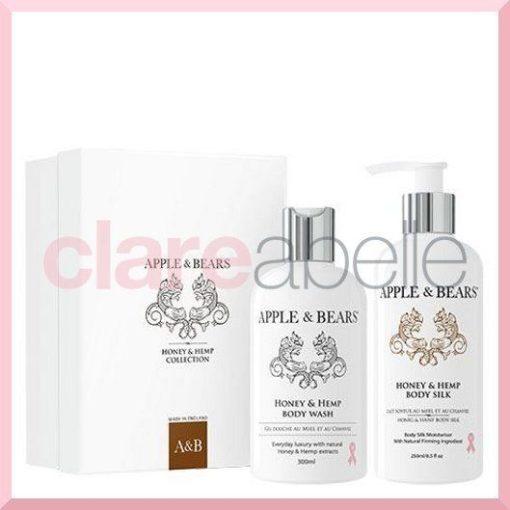 Honey & Hemp Luxury Body Care Gift Set