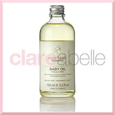 Baby Oil 100ml Storksak Organics