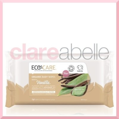 Vanilla Organic Baby Wipes By ECOCARE