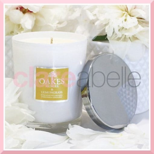 Oakes Candles - Ginger & Lemongrass Votive Candle 180g