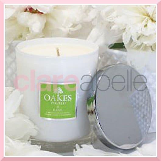 Oakes Candles Pomelo & Basil Votive Candle 180g ...